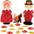 Thanksgiving Friends Table Decorating Kit 15pc