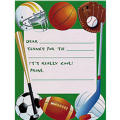 Game Day Thank You Notes 8ct