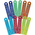 Alphabet Rulers 12ct