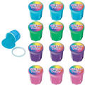 Mini Glitter Putty Containers 12ct