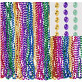 Multicolor Bead Necklaces 32in 50ct