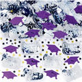 Metallic Purple Graduation Confetti 2 1/2oz