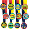 Assorted Award Medals 12ct
