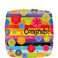 Congrats Balloon - Bubble Burst