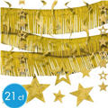 Gold Foil Decorating Kit 21pc