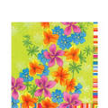 Flower Drizzle Lunch Napkins 20ct