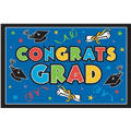 Multicolor Vinyl Graduation Party Sign 78in