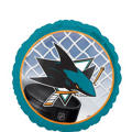 Foil San Jose Sharks Balloon 18in