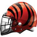 Cincinnati Bengals Helmet Foil Balloon 26in