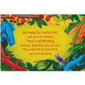 Bugs & Reptiles Custom Invitation