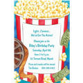 Movie Night Custom Invitations