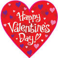 Valentines Day Heart Cutout 15in