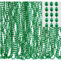 Green Bead Necklaces 30in 50ct
