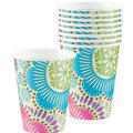 Fashion Floral Cups 8ct