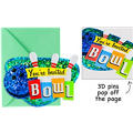 Jumbo Bowling Invitations 8ct