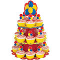 Primary Cupcake Stand Kit Holds 24
