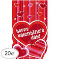 Valentines Day Treat Bags 9in 20ct