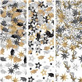 Black, Gold and Silver 2013 Graduation Confetti 3pk 1 1/8oz