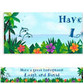 Ocean View Custom Banner 6ft