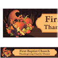 November Harvest Custom Banner 6ft