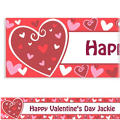 Be Mine Custom Valentines Day Banner