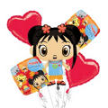 Ni Hao Kai Lan Balloon Bouquet 5pc