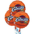 Cleveland Cavaliers Balloons 18in 3ct