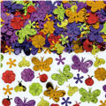 Butterflies and Flowers Confetti 5oz