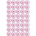 Light Pink Heart Sweets Candy 40ct