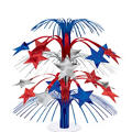 Patriotic Star Cascade Centerpiece 18in