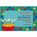 Perfect Time To Party Custom Invitation