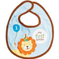 Sweet At One Boys 1st Birthday Fabric Bib