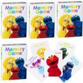 Sesame Street Memory Games 4ct