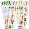 Yo Gabba Gabba! Stickers 8 Sheets