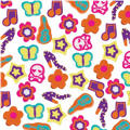 Flower Power Mini Erasers 500ct