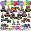 Multi Bright Star New Years <span class=messagesale><br><b>Party Kit For 200</b></span>