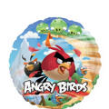Foil Angry Birds Balloon 18in