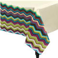 Fashion Stripe Paper Table Cover 54in x 102in