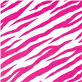 Hot Pink Zebra Printed Tissue Paper 8ct
