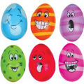 Crazy Easter Eggs 3 1/4in 6ct