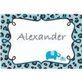 Blue Safari Custom Thank You Note