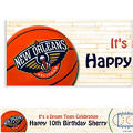 New Orleans Pelicans Custom Banner