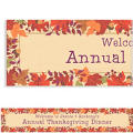 Festive Fall Custom Banner 6ft