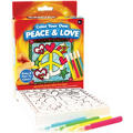 Peace and Love Coloring Kit