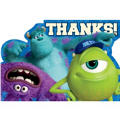 Monsters University Thank You Notes 8ct