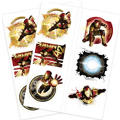 Iron Man Tattoos 2 Sheets