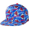 Comic Print Superman Baseball Hat