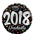 Foil 2014 Confetti Graduation Balloon 18in