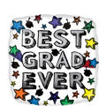 Foil Best Ever Graduation Balloon