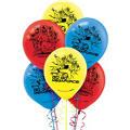 Happy Birthday Power Rangers Megaforce Balloons 6ct
